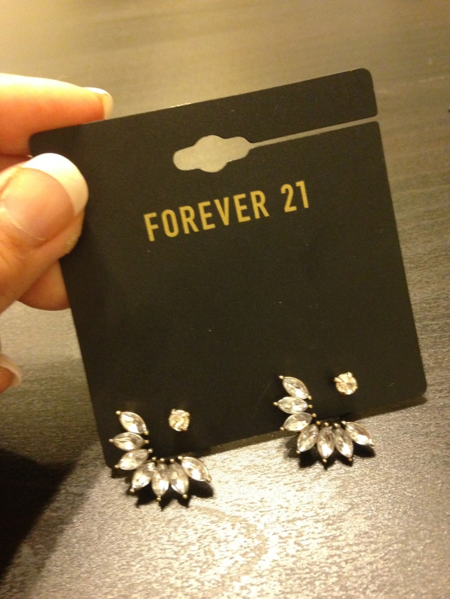 Cuff Earrings from Forever 21